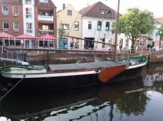 Ein Schiff in Buxtehude