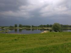 Gewitter über Wittenberge