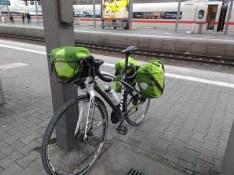 Rad am Münchner Bahnhof (trocken)