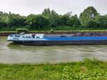 Schiff aufm Kanal