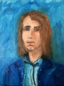 oil painting self portrait