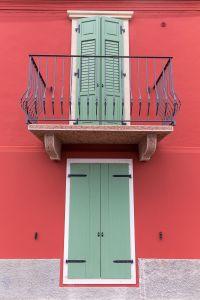 Fenster am Gardasee