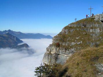 Kranzhorn mit Blick aufs Inntal