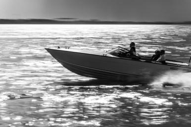 #Mitzieher von einem #Boot in #Venedig im #Gegenlicht