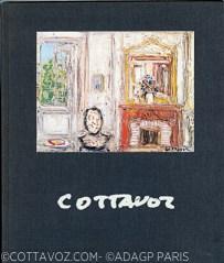Cottavoz 1987 avant propos Jean-Jacques Lerrant sur l'Ecole Lyonnaise - texte Duplessis - Taménaga