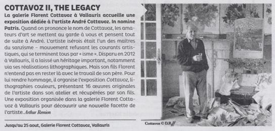 COTTAVOZ II, THE LEGACY