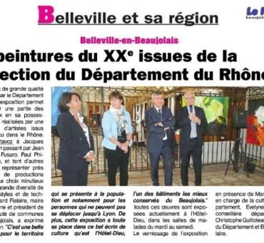 Belleville et sa région