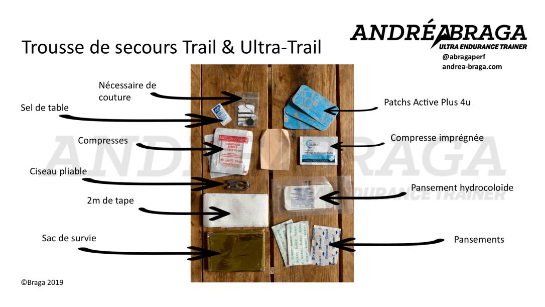 Trousse de secours Trail & Ultra Trail
