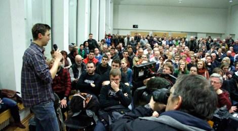 Veranstaltung zur Einrichtung einer Unterkunft für Flüchtlinge in Friesack