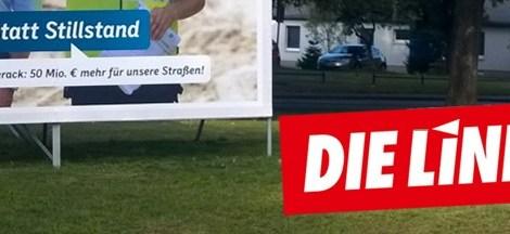 Die CDU entdeckt Probleme, die sie selbst zu verantworten hat und übersieht, dass Rot-Rot sie anpackt... Heute: Straßenbau
