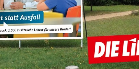 Die CDU entdeckt Probleme, die sie selbst zu verantworten hat und übersieht, dass Rot-Rot sie anpackt. Heute: Unsere Schulen