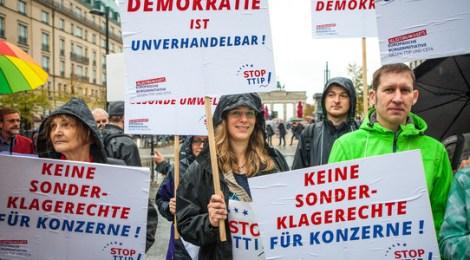 DIE LINKE ruft zur Teilnahme an Aktionen gegen TTIP auf