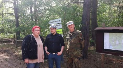 Standortübungsplatz der Bundeswehr in der Döberitzer Heide - Besichtigung