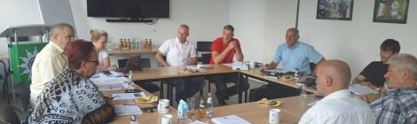 Besuch bei der Gewerkschaft der Polizei in Potsdam