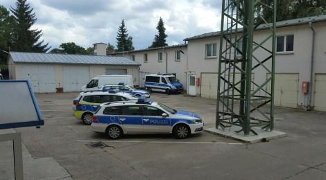 Eine Streifenfahrt mit der Polizei des Havellands