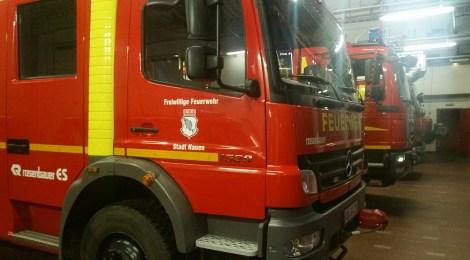 Besuch bei der Freiwilligen Feuerwehr in Nauen