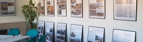 """Ausstellungseröffnung """"Auf den Spuren des Krieges - Zerstörtes und Erhaltenes in der Autonomen Region Kurdistan"""" in Eisenhüttenstadt"""