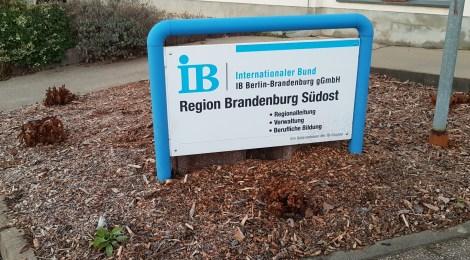 Besuch beim Internationalen Bund inFrankfurt (Oder)
