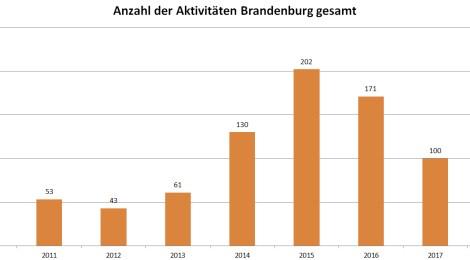 Nachgefragt: Fremdenfeindliche und neonazistische Aktivitäten in Brandenburg im 4. Quartal 2018 – Ausführliche Auswertung mit Übersichten