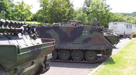 Pressemitteilung: Panzer schaffen keinen Frieden und haben auf öffentlichen Straßen nichts zu suchen!