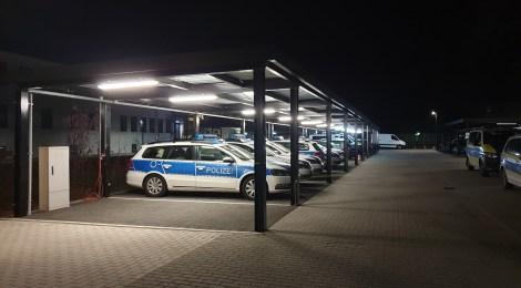 Kurzbericht von der Nachtschicht mit der Polizei in Brandenburg an der Havel