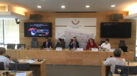 """Konferenz """"LGBTI + History in the baltic states: situation and prospects"""" im Seimas in Vilnius"""