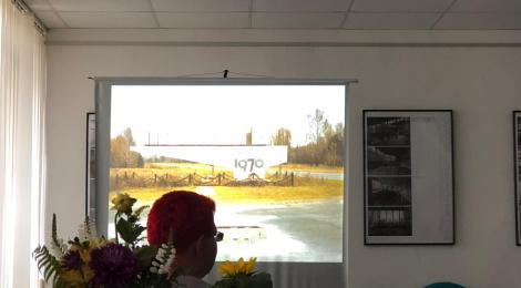 Besuch in der ZABH und Ausstellungseröffnung in Eisenhüttenstadt