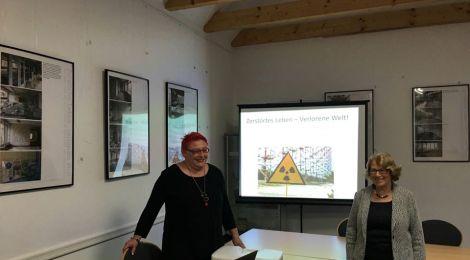 """Ausstellungseröffnung in Elstal: """"Zerstörtes Leben - verlorene Welt. Die Sperrzone um Tschernobyl 30 Jahre nach der Katastrophe"""""""