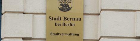 Sommer, Wolken, Sommertour... Besuch beim linke Bürgermeister André Stahl in Bernau