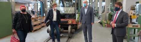 Unterwegs in Brandenburg/H.: Besuche bei der Wobra, den Verkehrsbetrieben und dem Tourismusmarketing