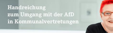 Handreichung zum Umgang mit der AfD in Kommunalvertretungen
