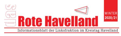 """""""Das rote Havelland"""" - Ein turbulentes Jahr!"""
