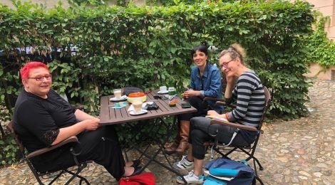 Sommer, Sonne, Sommertour... in Brandenburg an der Havel: Lebenshilfe, Frauenhaus und BBAG