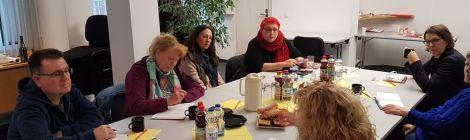 Unterwegs in Fürstenwalde... Gespräche mit der Caritas, der Integrationsbeauftragten und dem Integrationsnetzwerk