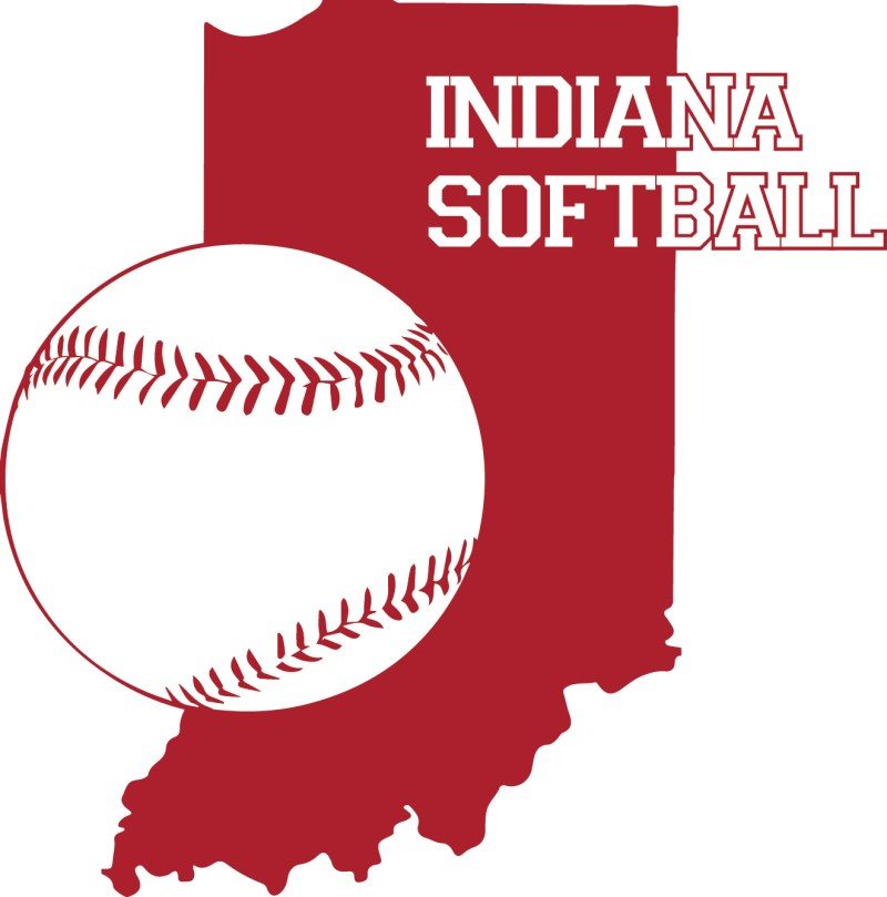 Indiana Softball logo