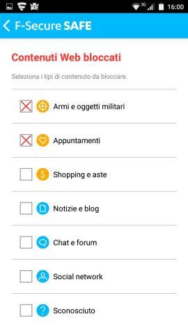 Controlli genitoriali su Android: come funziona F Secure SAFE