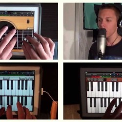 iPad Band - Hey You (Pink Floyd) cover by Firmin Manoury mi piacque su YouTube