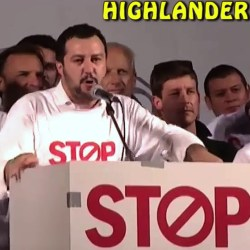 IL RAP DI MATTEO SALVINI (HIGHLANDER DJ) (YouTube)