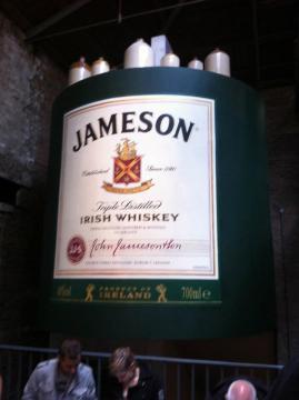 Jameson whiskey!