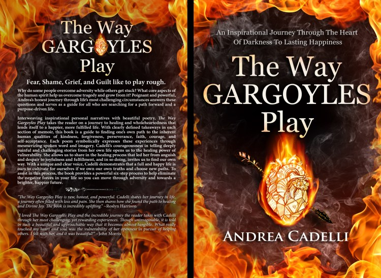 personal story, memoir, my story, the power of story, I want to tell my story, The Way Gargoyles Play, Andrea Cadelli, new releases