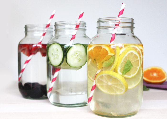 herb-infused-water