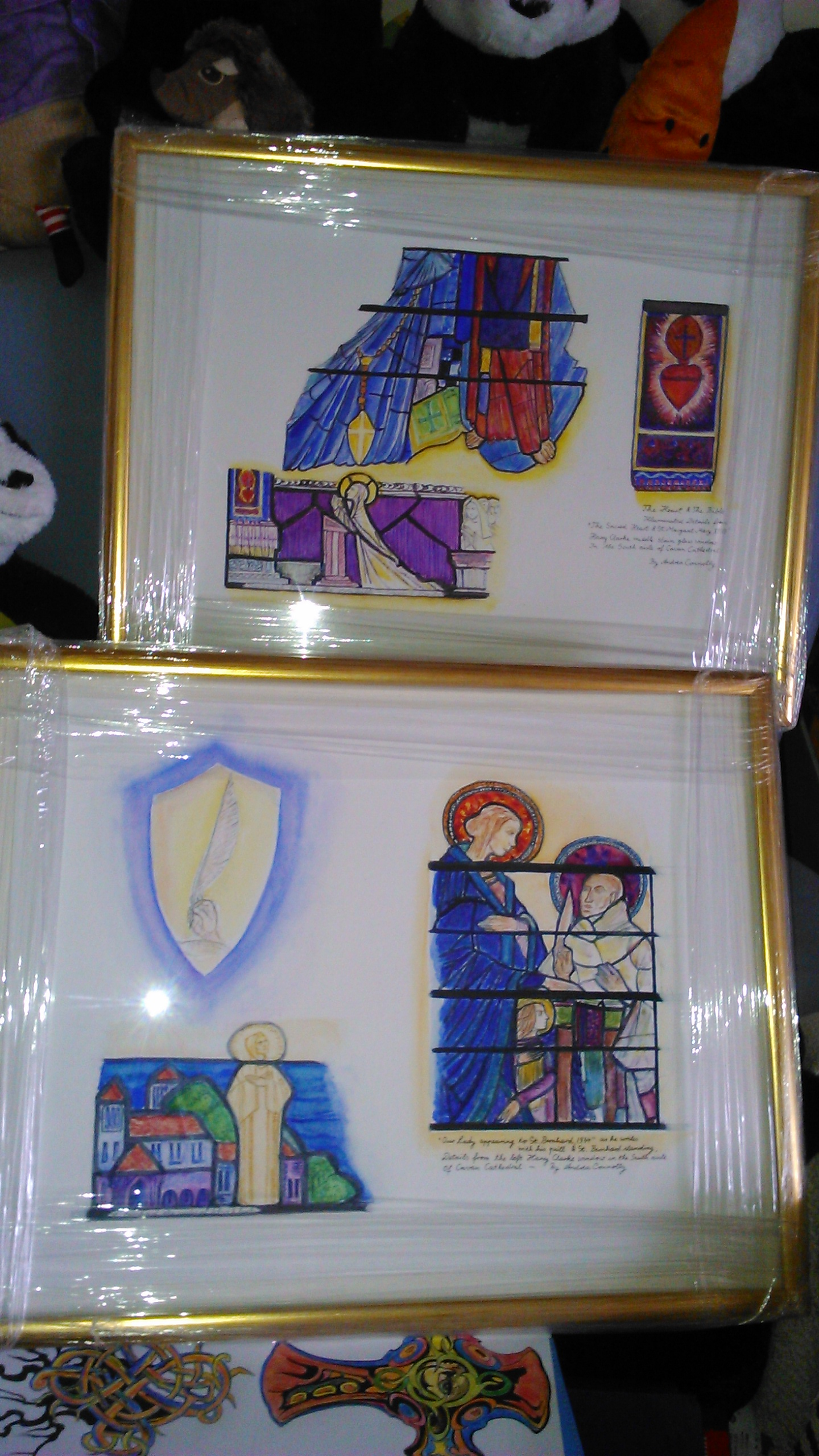 Sacral Heritage Exhibition Opening 14th of June 2017 –  ILLUMINATION: Harry Clarke Stained Glass of Cavan Cathedral by Andrea Connolly