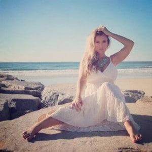 Andrea Cox soaking up the California sun in Carlsbad!