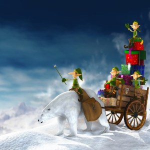 Christmas-elf-ipad-wallpaper-ilikewallpaper_com