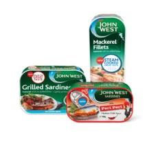 John West mackerel and sardines