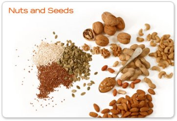 Nuts and seeds and nutrient bombs that satisfy the appetite