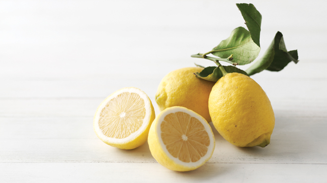 Lemon, Raspberry & Almond Cake