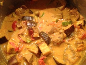 Beef Tongue Vegetable Curry