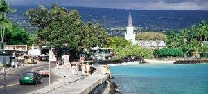 A quiet Kailua village seawall; where it all starts tomorrow