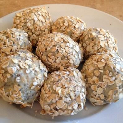 Rolled in oats
